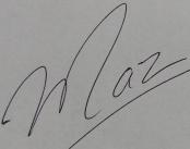 Maz Signature