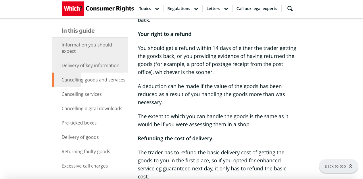 Consumer Rights 2013